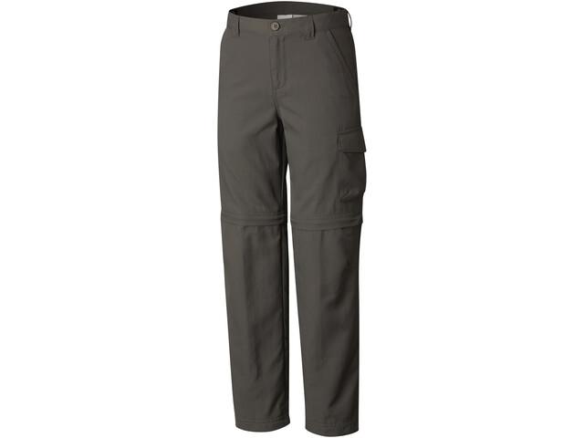 Columbia Silver Ridge III Convertible Pantalon Garçon, grill